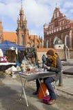 Faire de Spting à Vilnius, Lithuanie Photographie stock libre de droits