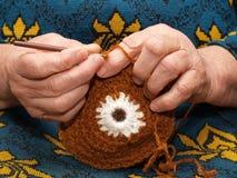 Faire du crochet Photographie stock