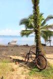 Faire du vélo chez Bocas Photo libre de droits