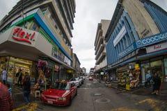 Faire du vélo de montagne de Rica de côte Photo stock