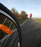 Faire du vélo Image stock
