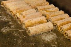 Faire frire des croquettes Image stock