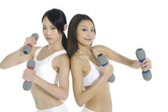 Faire la forme physique Photographie stock