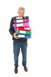 Faire la gestion de papier Photo stock