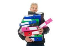 Faire la gestion de papier Photographie stock libre de droits
