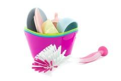 Faire la vaisselle Images stock