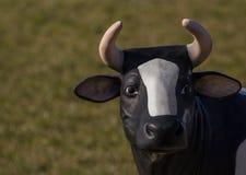 Faire milk. A cow as a symbol for fair milk Stock Photo