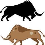 Faire rage Bull Image stock