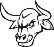 Faire rage Bull illustration libre de droits