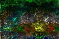 Faire souffrir coloré d'huile Image libre de droits