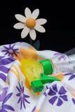 Faire un nettoyage de printemps Images stock