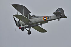 Fairey Swordfish at Biggin Hill Airshow Royalty Free Stock Photography