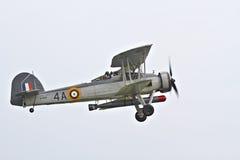 Fairey Swordfish przy Biggin wzgórzem Airshow obrazy stock