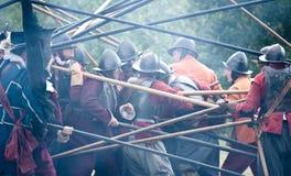 Fairfax battle. Hand-to-hand fight Stock Photography
