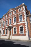 Fairfax House in York. A view of the historic Fairfax House located on Castlegate in the city of York in England Stock Photography