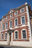 Fairfax House in York. A view of the historic Fairfax House located on Castlegate in the city of York in England Royalty Free Stock Photos