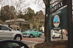 Fairfax miasteczko Obrazy Stock