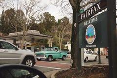 Fairfax stad Arkivbilder