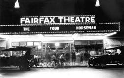 Fairfax Theatre on East Flagler Street Stock Photo