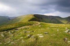 Fairfield et Hart Crag Image libre de droits