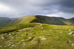 Fairfield and Hart Crag Royalty Free Stock Image