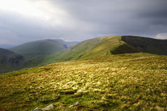 Fairfield and Helvellyn Royalty Free Stock Photography