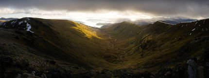 The Fairfield Horseshoe Panoramic Stock Images