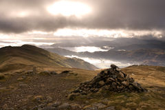 Fairfield Horseshoe Peak Stock Photography