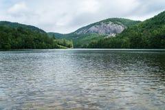 Fairfield Lake near Sapphire in North Carolina Royalty Free Stock Photos