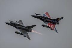 FAIRFORD, HET UK - 10 JULI: Luchtspiegeling 2000 Vliegtuigen neemt aan de Koninklijke Internationale Lucht van de Luchttatoegerin Royalty-vrije Stock Foto's