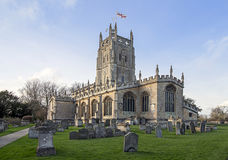 Fairford Parish Church Royalty Free Stock Photo