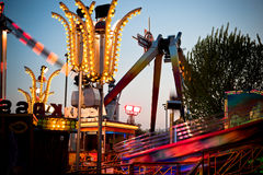 At the fairground Royalty Free Stock Image