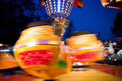 At the fairground Royalty Free Stock Photo