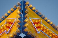 Fairground arrows. Arrows parish fair. See my other works in portfolio Stock Images
