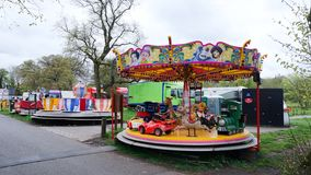 Fairground Attraction. Fairground  attractions at the Blackburn Easter fair Stock Images