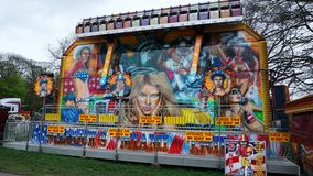 Fairground Attraction. Fairground  attraction at the Blackburn Easter fair Royalty Free Stock Photography