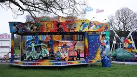 Fairground Attraction. Fairground  attraction at the Blackburn Easter fair Royalty Free Stock Photo