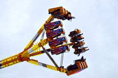Fairground attraction in the sky Royalty Free Stock Photography