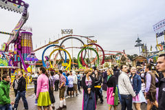 Fairground attractions Stock Images