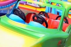 Fairground car on the carousel. Stock Image