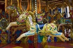 Fairground carousel Stock Photography