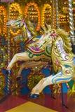 Fairground carousel Stock Photo