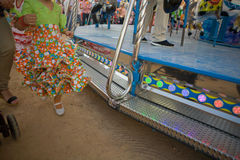 Fairground carousel at Cordoba, Spain Stock Images