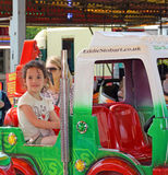 Fairground carousel lorry ride Stock Photography