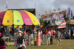 Fairground Colors Royalty Free Stock Photos