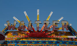 Fairground colours Royalty Free Stock Photography