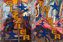 Fairground colours Royalty Free Stock Images