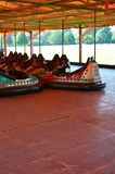 Fairground dodgems. Royalty Free Stock Photos