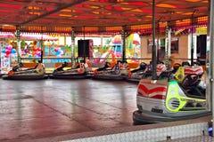 Fairground Dodger przejażdżka Obrazy Stock