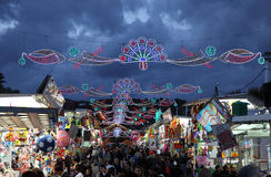 Fairground in Estepona, Spain Royalty Free Stock Photo